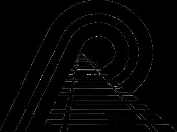 Pinsly Railroad (Florida Railroads) logo