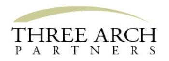 Three Arch Partners logo