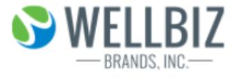 WellBiz Brands, Inc. logo